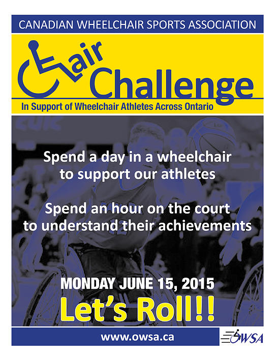 Chair Challenge Poster