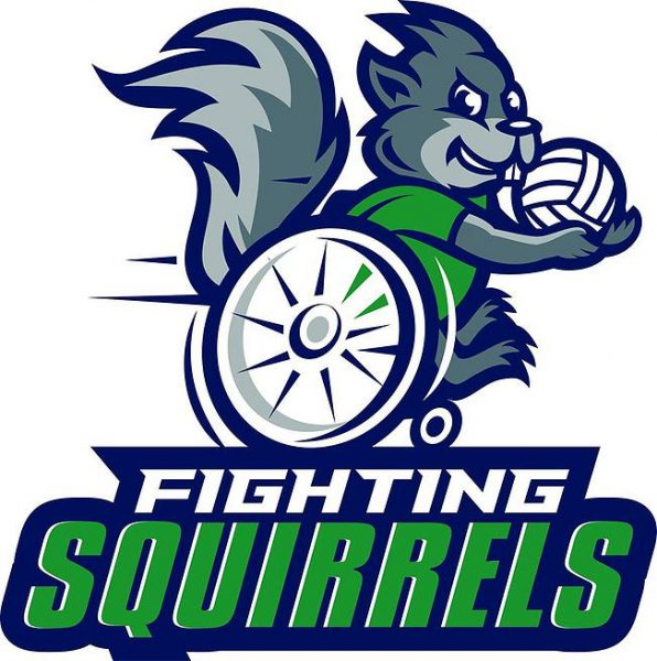 Fighting Squirrels Logo
