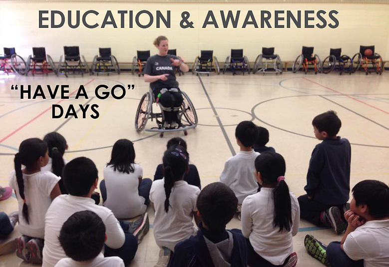 """Have a Go"" Days - Education and Awareness at Schools"