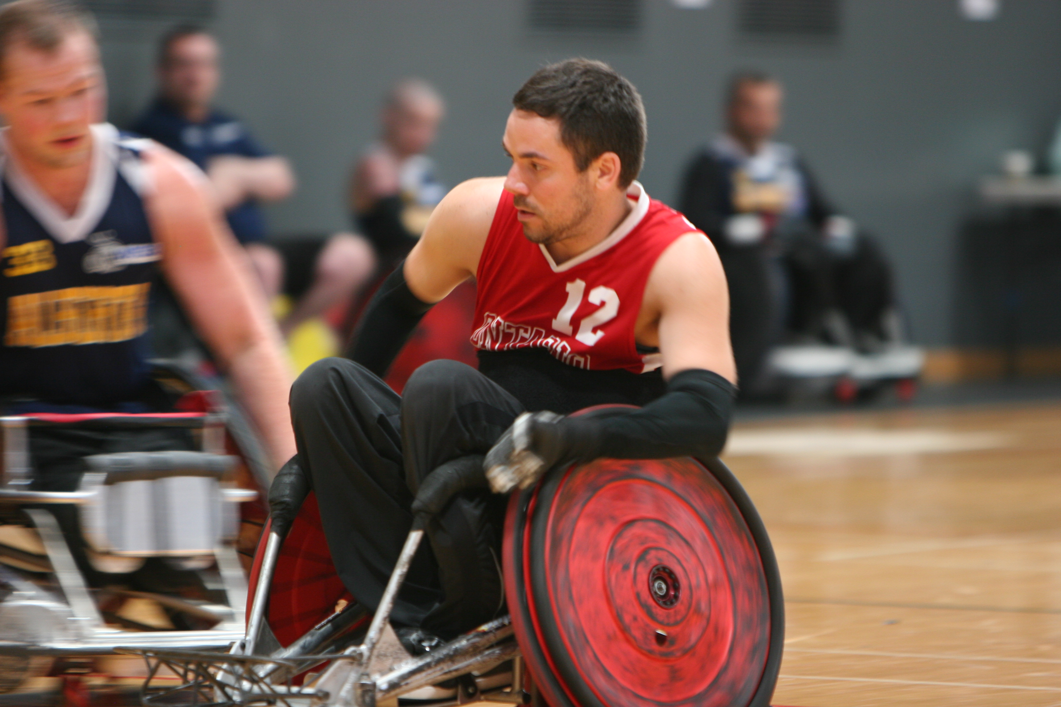 Wheelchair Rugby Modifications, Wheelchair Rugby, Wheelchair Rugby Modifications