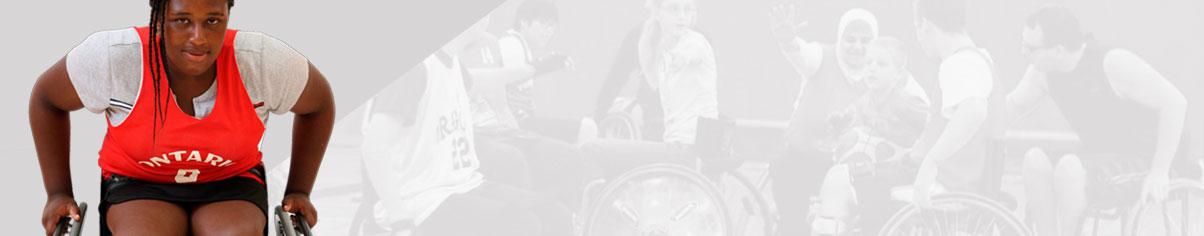 female wheelchair athlete - Ontario Para Network